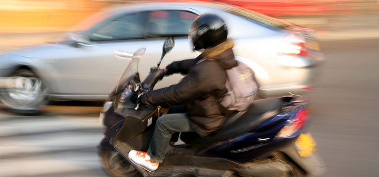 Motorcycle Near Misses and Close Calls Can Be Learned From