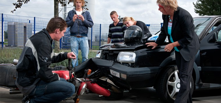 How to prove a motorcycle accident wasn't your fault