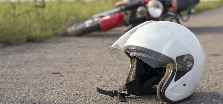 About 90% of motorcycle deaths are helmetless